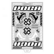 AUTOCOLLANT/STICKER VOCA RACE-SQUAD (PANCHE 45x35cm - 28 STICKERS)