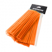 COUVRE RAYON VOCA SPOKES ORANGE KIT AVANT ARRIERE