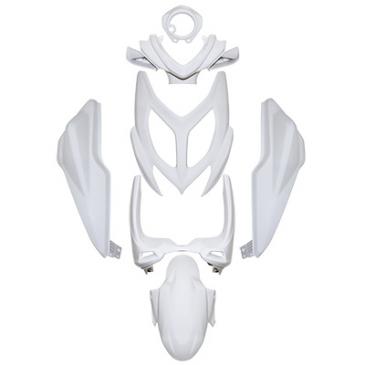 carrosserie carenage scoot adaptable mbk 50 nitro 2013 yamaha 50 aerox 2013 blanc brillant kit. Black Bedroom Furniture Sets. Home Design Ideas