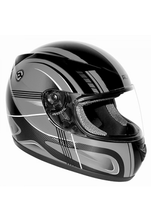 CASQUE INTEGRAL ADX XR1 RACING FUSION ARGENT XL