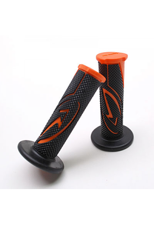GRIPS BCD DESIGN BLACK/ORANGE (PAIR)