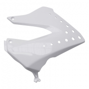 LEFT SIDE COVER FOR TANK FOR 50cc MOTORBIKE DERBI 50 SENDA DRD 20052010 GLOSS WHITE