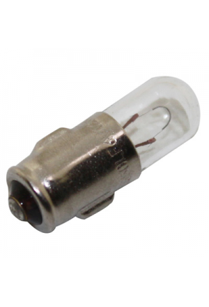 AMPOULE/LAMPE 6V 1,2W TEMOIN CULOT BA7S STANDARD BLANC(CLIGNOTANT) (BOITE DE 10) -SELECTION P2R-