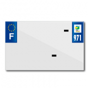 BAND PLATE MOTO 210x130 FOR VIRGIN PVC DEP.971/EURO (SOLD BY UNIT)
