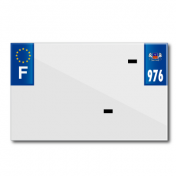 BAND PLATE MOTO 210x130 FOR VIRGIN PVC DEP.976/EURO (SOLD BY UNIT)