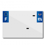 BAND PLATE MOTO 210x145 FOR PVC WITH COMPANY NAME DEP.976/EURO (SOLD BY UNIT)