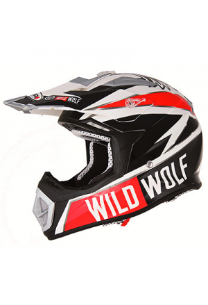 CASQUE CROSS SHIRO MX-912 WILD WOLF CARBONE REPLICA XL (1000 g +/- 50 g)