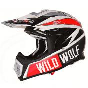 CASQUE CROSS SHIRO MX-912 WILD WOLF CARBONE REPLICA XL (1000 g +/- 50 g)