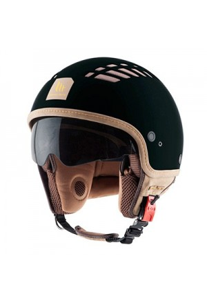 CASQUE JET MT COSMO SOLID RUBBER NOIR MAT XL