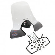PARE BRISE MAXISCOOTER KYMCO 125-300 PEOPLE GTi 20102011 HAUT TRANSPARENT -FACO-