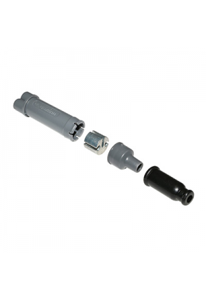 DEDOUBLEUR CABLE DE GAZ/POMPE A HUILE (DIAM 6,25mm) (COURSE 36mm) -DOMINO-