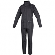 RAIN GARMENTS TUCANO SET DILUVIO PLUS BLACK XL (JACKET + TROUSER PACK)