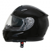 CASQUE INTEGRAL ADX XR4 UNI NOIR BRILLANT L (DOUBLES ECRANS)