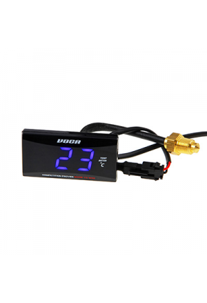THERMOMETRE DIGITAL VOCA RACING 0-120°C ECLAIRAGE LED BLEU