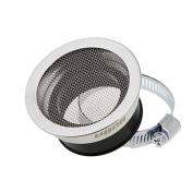 AIR HORN FOR CARB VOCA BELL MOUTH Ø48mm CHROME