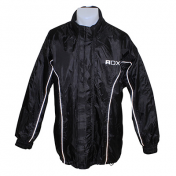 RAIN JACKET ADX LUXE BLACK XS (PVC + POLYESTER , LINING INSIDE)