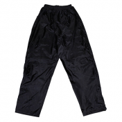 RAIN PANTS ADX LUXE BLACK M (BELLOW WITH VELCRO TAPE AND ELASTIC FOR ADJUST LOWER LEG SECTION)