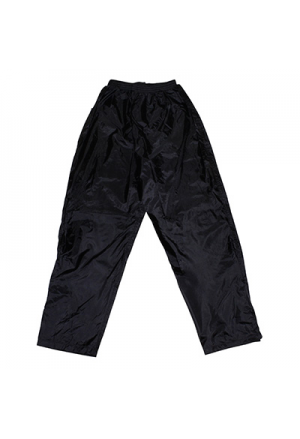 RAIN TROUSER/PANT ADX LUXE BLACK L (VELCRO FOR FOOT AND ADJUSTMENT ELASTIC)