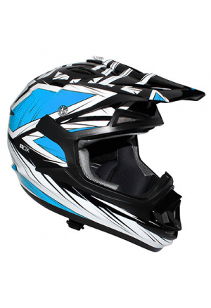 CASQUE CROSS ADX MX2 BLAZE BLEU XL