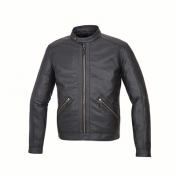 JACKET TUCANO - LEATHER - SPRING/SUMMER - TOM BLACK S56-58 (XL)