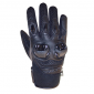 GLOVES- ADX SPRING/SUMMER CHICAGO BLACK T11 (XL) (APPROVED EN 13594:2015)