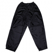RAIN PANTS ADX ECO BLACK M (SNAPS+ ELASTIC BAND + CARRYING BAG)