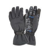 GLOVES TUCANO-AUTOMN/WINTER PASSWORD KID CE BLACK -SIZE 8 YEARS (APPROVED EN 13594)