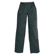 RAIN PANTS TUCANO DILUVIO (SIDE OPENING) BLACK S (LINED)