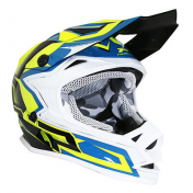 HELMET-CROSS ENDURO-FOR KIDS PROGRIP 3009 BLUE/YELLOW YS