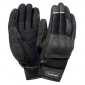 GLOVES TUCANO-SPRING/SUMMER MRK PRO BLACK T10 (L) (APPROVED EN13594) (TOUCH SCREEN FUNCTION)