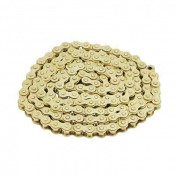 CHAIN FOR MOTORBIKE VOCA 420 REINFORCED - GOLDEN 136 LINKS