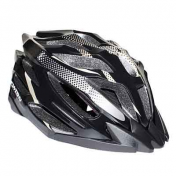 ATB ADULT HELMET-NEWTON X-CALIBER BLACK/GOLD IN-MOLD SIZE 58-61 -WITH LOCK SYSTEM- (SOLD IN BOX)