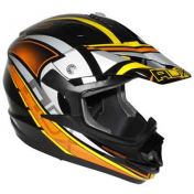 HELMET-CROSS ENDURO ADX MX2 THUNDERBOLT BLACK/ORANGE XL
