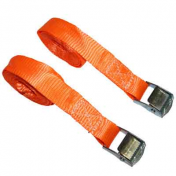 CARYING STRAP FOR MOTORCYCLE-WITH AUTOMATIC BUCKLE MAGGI 25mm x 4,50M (TRACTION RESISTANCE 200Kg) (SOLD PER PAIR)