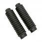 FORK GAITERS FOR MOPED PEUGEOT 50 TSE, TLX (Ø 25/31mm - LENGTH 175mm) (PAIR) -SELECTION P2R-