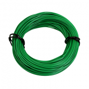ELECTRIC WIRE 7/10 (0,50mm) GREEN (50M) -SELECTION P2R-