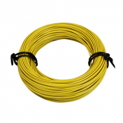 ELECTRIC WIRE 12/10 (1,00mm) YELLOW (50M) -SELECTION P2R-