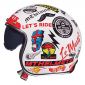 HELMET-OPEN FACE MT LE MANS 2 SV ANARCHY WHITE XXL