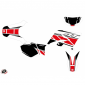 DECAL STICKERS FOR 50cc MOTORBIKE REPLICA RED FOR YAMAHA 50 DT 2007>2011 -KUTVEK-