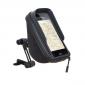 SUPPORT TELEPHONE/SMARTPHONE/GPS SHAD AVEC POCHE FIXATION SUR RETROVISEUR (POUR TELEPHONE 180X90mm) (X0SG75M)