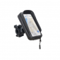 SMARTPHONE/GPS HOLDER - SHAD ON HANDLEBAR (FOR PHONE 160X80mm) (X0SG61H)