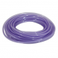 FUEL HOSE - DOUBLE THICKNESS - SPECIAL FOR UNLEADED Ø 4x8 PURPLE TRANSLUCENT - UV AND HEAT RESISTANT (ROLL 10M) -SELECTION P2R-