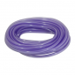 FUEL HOSE - DOUBLE THICKNESS - SPECIAL FOR UNLEADED Ø 5X9 PURPLE TRANSLUCENT - UV AND HEAT RESISTANT (ROLL 10M) -SELECTION P2R-