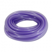 FUEL HOSE - DOUBLE THICKNESS - SPECIAL FOR UNLEADED Ø 6X10 PURPLE TRANSLUCENT - UV AND HEAT RESISTANT (ROLL 10M) -SELECTION P2R-