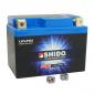 BATTERY 12V 1,6 Ah LTX5L-BS SHIDO LITHIUM ION - READY FOR USE (L113xW70xH105) EQUALS YB5L-B/YTX5L-B