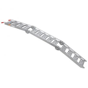 LOADING RAMP-P2R - ALUMINIUM - FOLDABLE IN 3 - LONG 2.26M - WD 28CM - MAX LOAD 340 KG( SOLD PER UNIT)