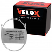 CABLE FOR THROTTLE - FOR MOPED - VELOX G.10 FOR PEUGEOT head 5x7mm Ø 12/10 Lg 1,20M (12 wires) (IN BOX PER 25)