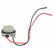 BULB HOLDER 12V BAU15S WITH WIRE -FLOSSER-