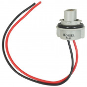 BULB HOLDER 12V W21W WITH WIRE -FLOSSER-