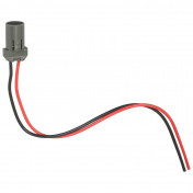 BULB HOLDER 12V W2.1x9.5D WITH WIRE -FLOSSER-